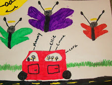 Butterflies in the carline art by Ellie
