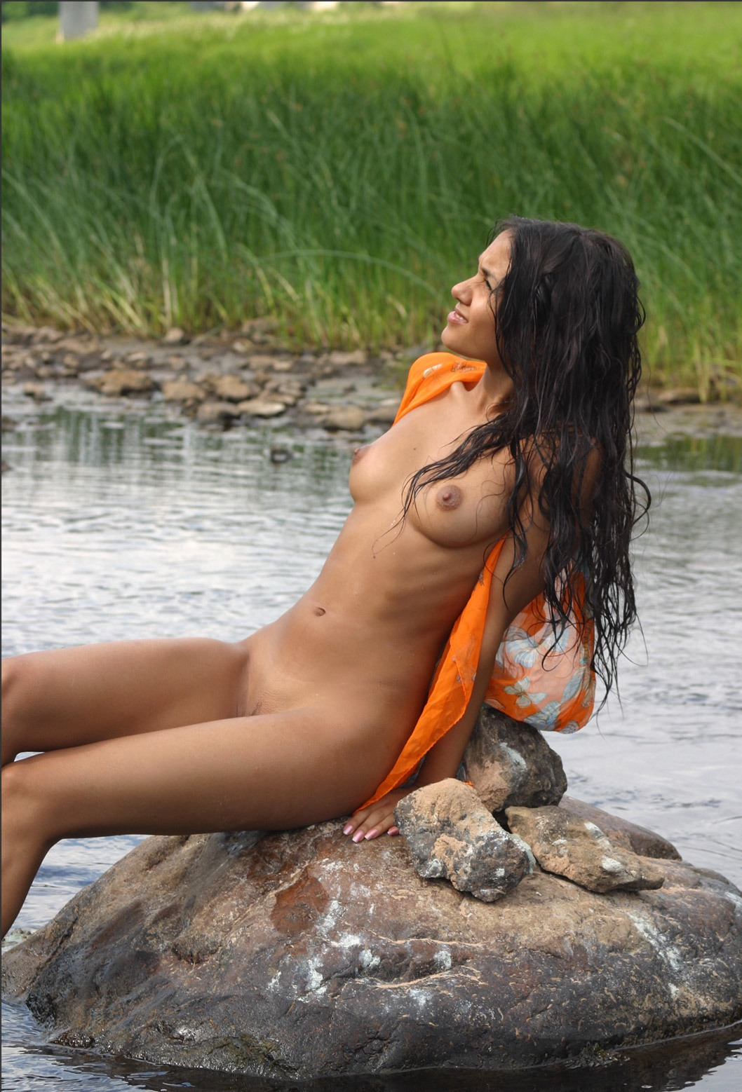 Big Girls 69 Indian Jungle Women Bathing Nude-1839