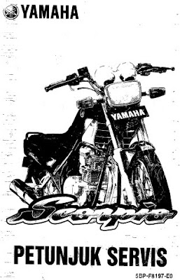 otomotif fans: Yamaha Scorpio Part Catalog & Service Manual