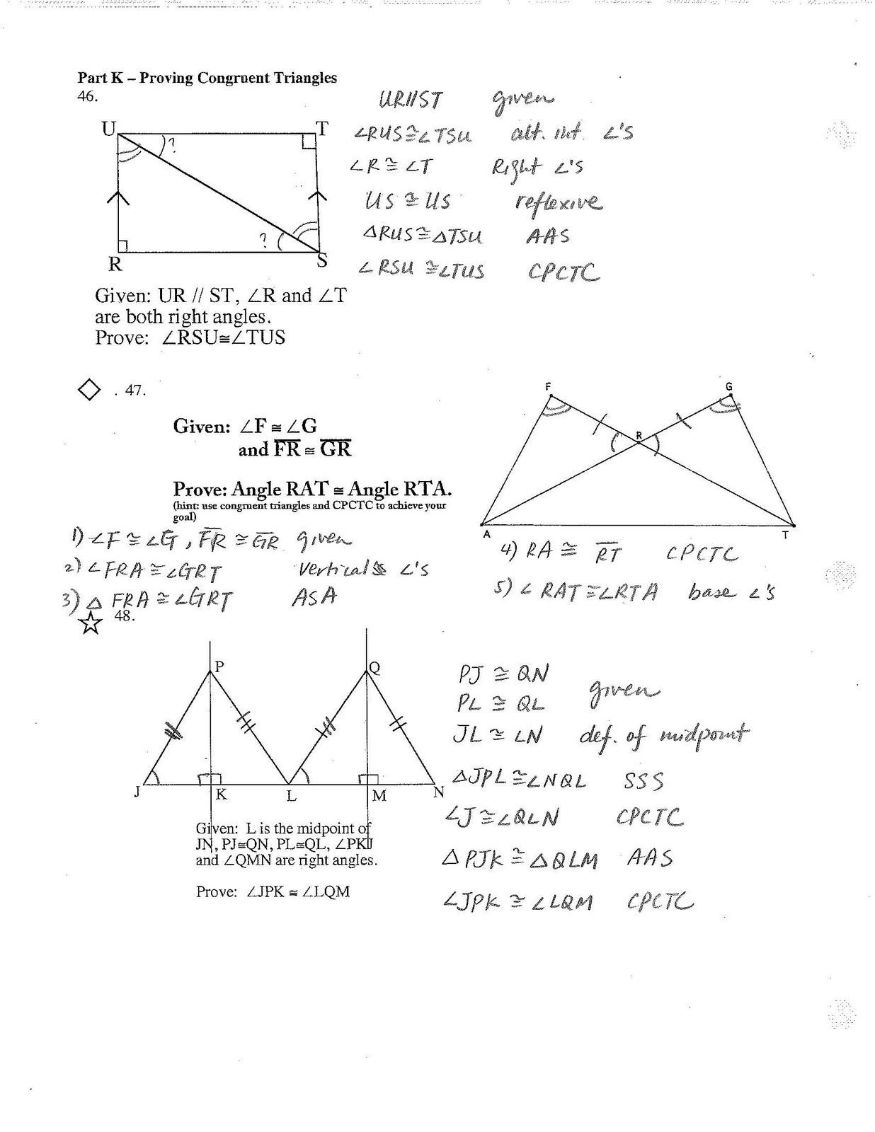 Jiazhen S Geometry Final Review Sheet Answers Are Here