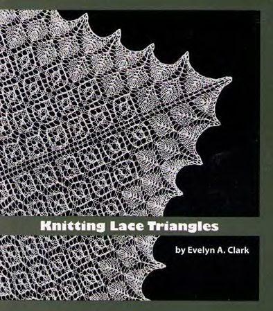 вязание спицами платок ажурный с угла