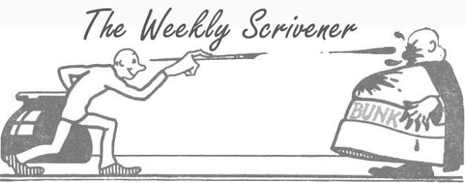 The Weekly Scrivener