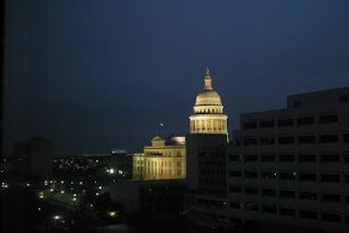 Capitol building in Austin, TX