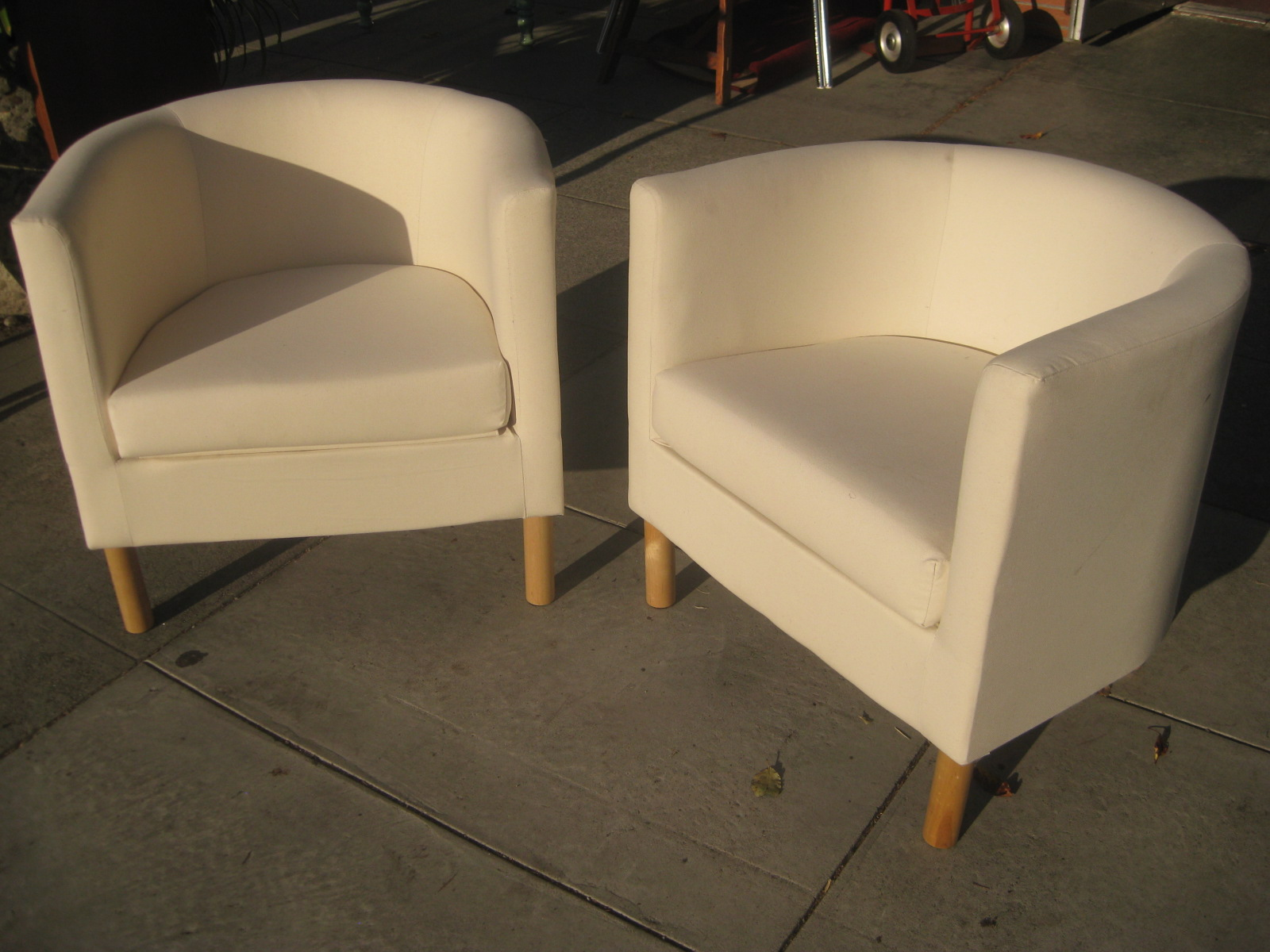 White Bucket Chair Cover Rental Manila Uhuru Furniture And Collectibles Sold Chairs 75