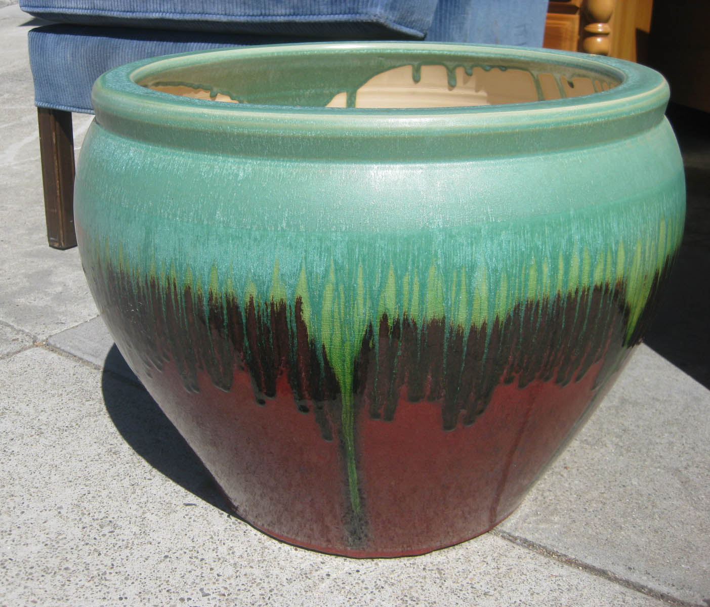 Uhuru Furniture Amp Collectibles Sold Large Ceramic Pot 35