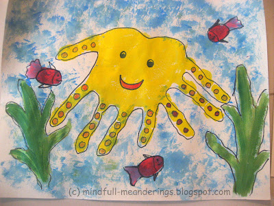 handprint octopus