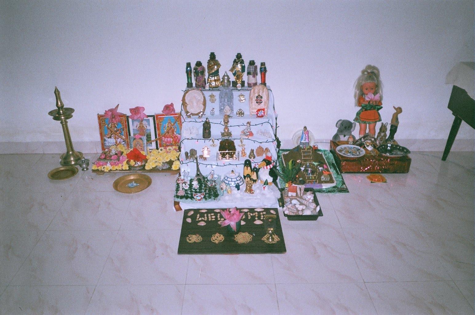 Golu Theme Ideas And Decoration Part - 50: Artsy Craftsy Mom