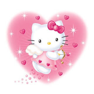Image de hello kitty image d 39 amour - Hello kitty coeur ...