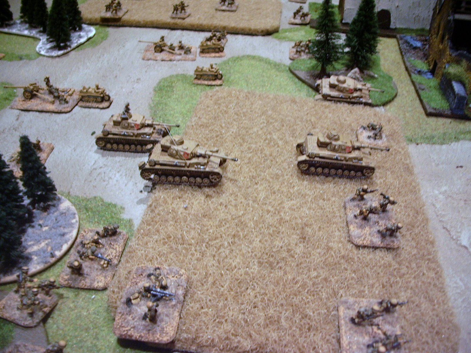flames of war rule book  put two armies together and then played to