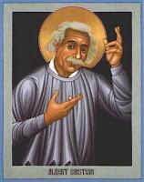Albert Einstein santificato