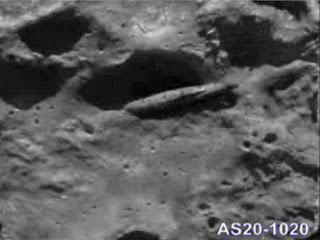 ufo sigariforme, luna