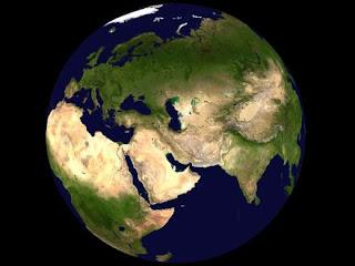 pianeta terra, superficie irregolare