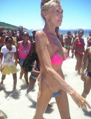 oldest lady in bikini