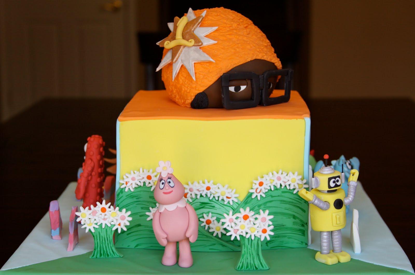 .: Yo Gabba Gabba Cake