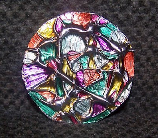 Life As I See It Tin Foil Quot Stained Glass Quot Ornaments