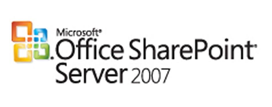 Nina's World: Microsoft Office SharePoint Server 2007