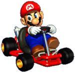 Mario, en plan posturas