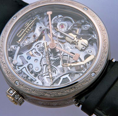 GREINER Musical Hand-skeleton watch