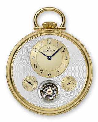 "Gübelin ""Turbulences"" Tourbillon Pocket Watch by Richard Daners and Marion Müller"