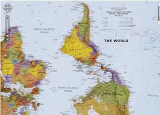 Mapa dado vuelta