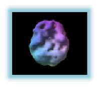 Imagem de um cerebro TDAH em descanso