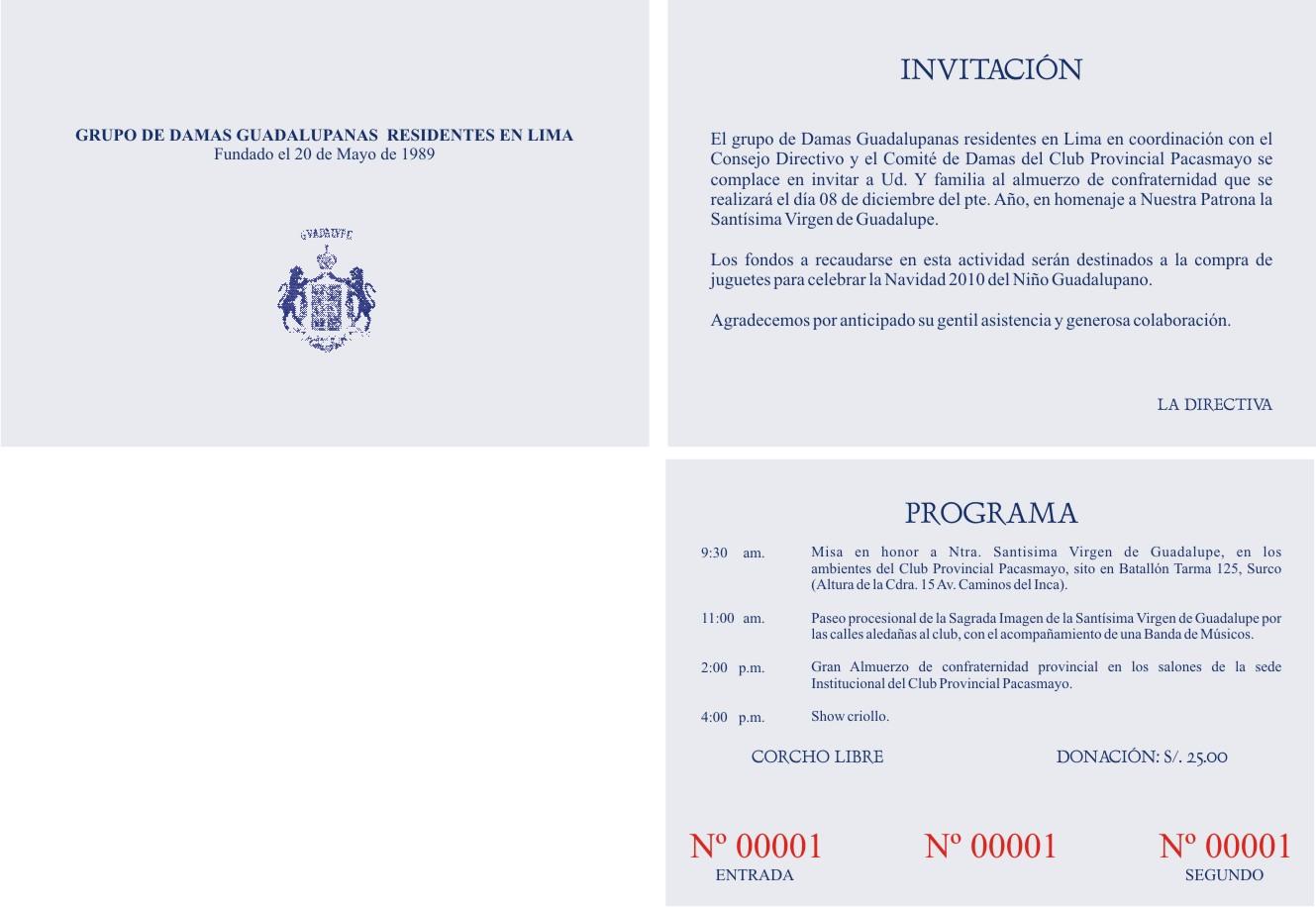 Notas De Prensa Invitacion Para Almuerzo