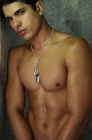 Edilson Nascimento oiled for Chokerz4men muscle