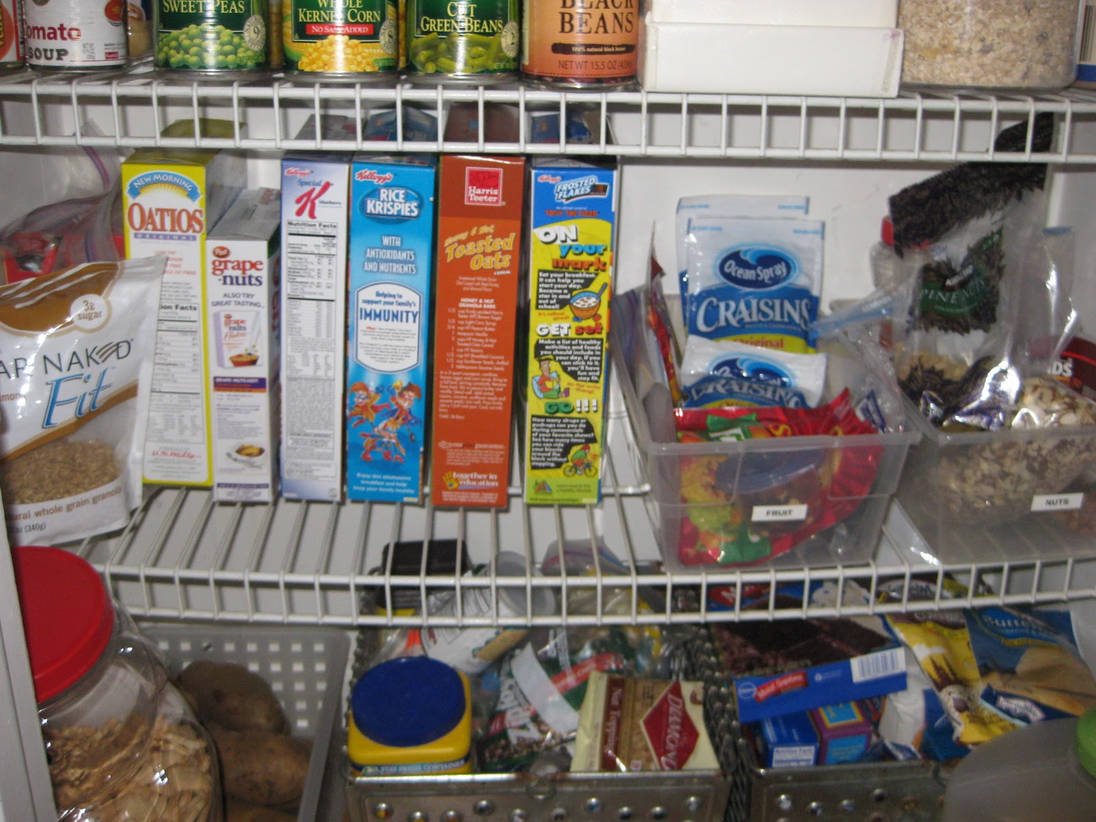 Simplify Your Life Organize Your Pantry Step 3