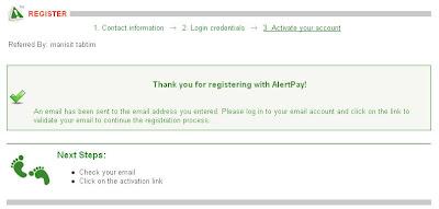 ธนาคารออนไลน์ Alertpay (AP) 5