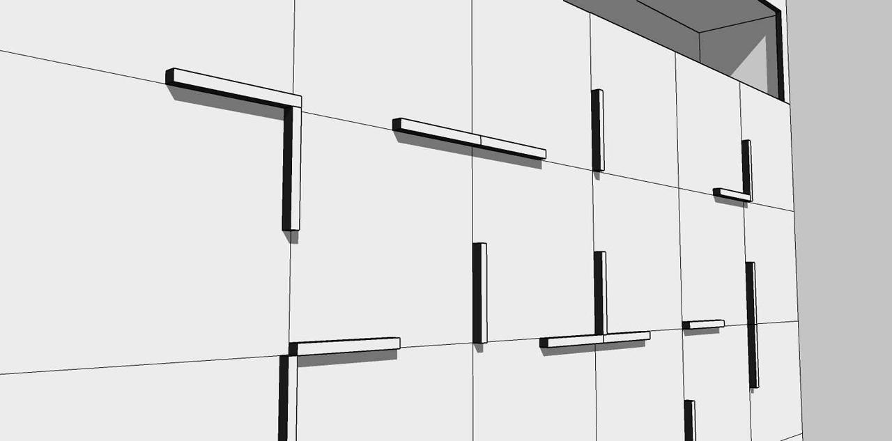 Stefan de Beer [art + architecture]: Pac-Man wandkast ...