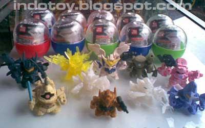 Mini Gundam Candy Toys - Rp 150.000