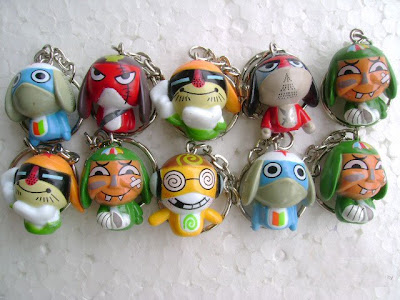 Mini Keroro Key Chain