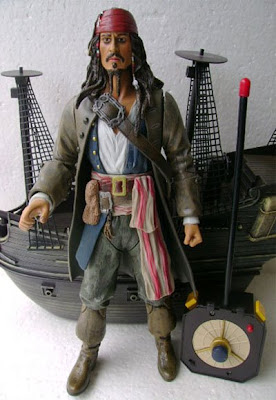 Jual action Figure Jack Sparrow Pirate of Carribean