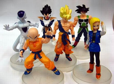 Jual Action Figure Dragon Ball isi 6.4