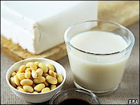 Soy products contain chemicals mimicking female hormones