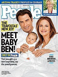 Image: Meet John Travolta and Kelly Preston's New Baby