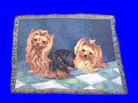 yorkshire terrier blanket throw tapestry usa