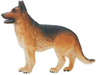 german shepherd toy miniature