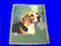 beagle blanket throw tapestry