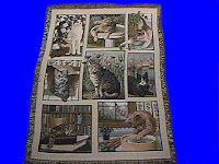 cat blanket throw tapestry manual woodworkers