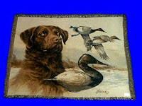 chesapeake bay retriever blanket throw tapestry