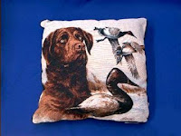 chesapeake bay retriever pillow