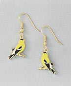 goldfinch earrings french curve jewelry