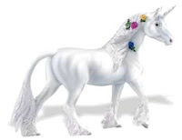 unicorn toy miniature figurine