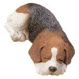 beagle figurine sandicast snoozer sz019