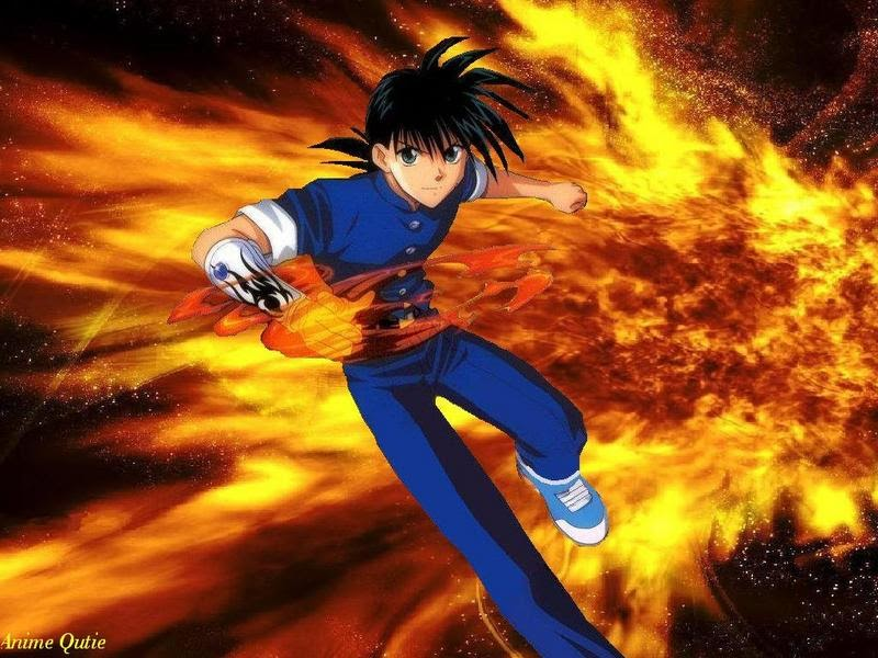 All About Anime: Flame Of Recca: Master Of The Fire DragonsFire Flames Dragon