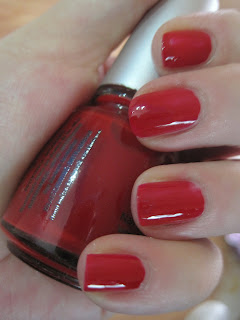 China Glaze Ruby Deer