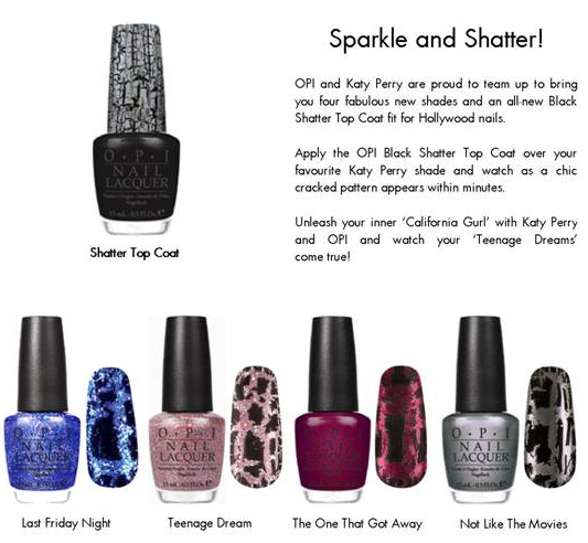 Katy Perry for OPI