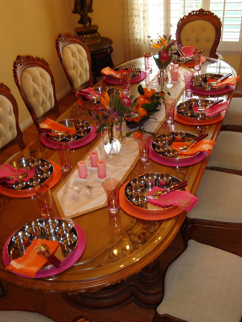 Entertaining From An Ethnic Indian Kitchen Thali Tablescape