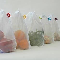 A Life Less Plastic: Reusable Produce Bags